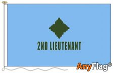 - 2ND LIEUTENANT BLUE ANYFLAG RANGE - VARIOUS SIZES